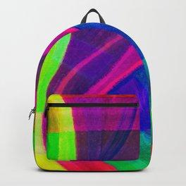 Fragmento de matices de vida color 4 Backpack