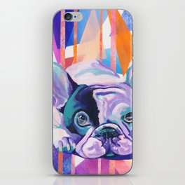 Frenchie Puppy iPhone Skin