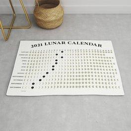 2021 Lunar Calendar Rug