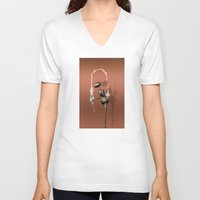 kardashian V-neck T-shirts featuring AntWoman doing KimK by AntWoman