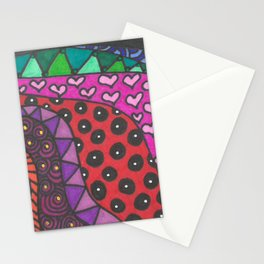 Colorful Zentangle Stationery Cards