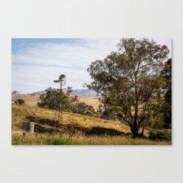 Swifts Creek Windmill  Canvas Print