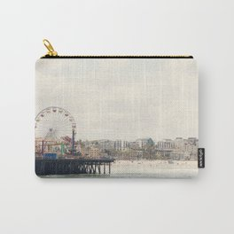 Santa Monica Pier. Happy Birthday Pacific Park!  Carry-All Pouch