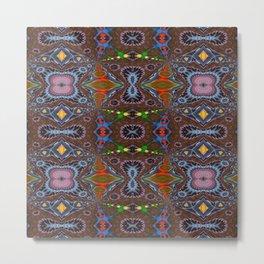 Vibrational Pattern 4 Metal Print