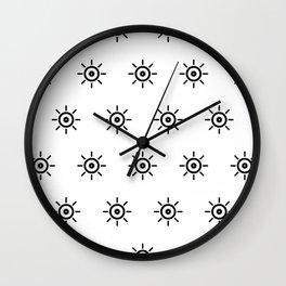 I Spy with my Alien Eye Wall Clock