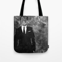 moriarty Tote Bags featuring Moriarty by Amy K. Nichols