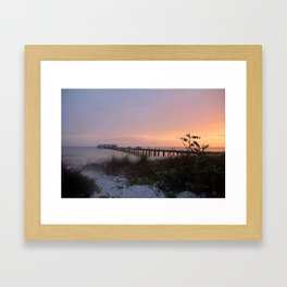 By Dawn's Early Light Framed Art Print