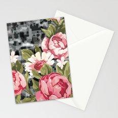 flowwwer pattern Stationery Cards
