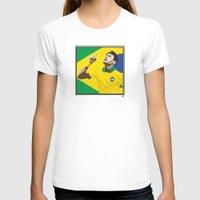 neymar T-shirts featuring Neymar Brasil 2 by lockerroom51