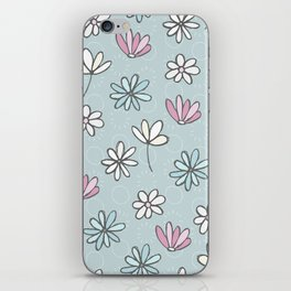 Cute Floral Ditsy Pattern iPhone Skin