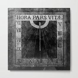 Hora Pars Vitae Metal Print