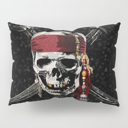 The Pirates Skull Sword Pillow Sham