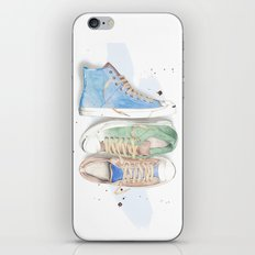 Converse Shoes iPhone & iPod Skin
