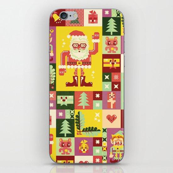 Christmas Geometric Pattern No. 1 iPhone & iPod Skin