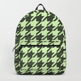 Neon Houndstooth Backpack