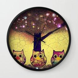 owl-212 Wall Clock