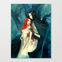 Hades and Persephone II Canvas Print