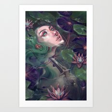 Spirit of the Lake Art Print