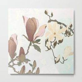 The delicate, invisible web  Metal Print