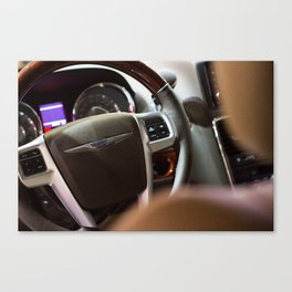 Chrysler Town & Country Limited Steering Wheel and Panel Canvas Print