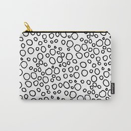 Oodles of doodles: Modern fun circle doodle Carry-All Pouch