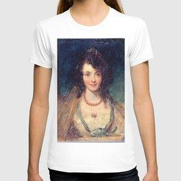 John Smart II of Ipswich - Portrait of a Lady T-shirt