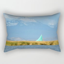 Titicaca sail 1 Rectangular Pillow