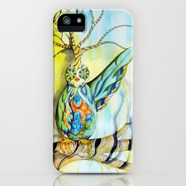 Throwing Shadows iPhone Case
