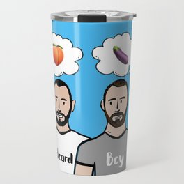 Beard Boy: Naughty Boys Travel Mug