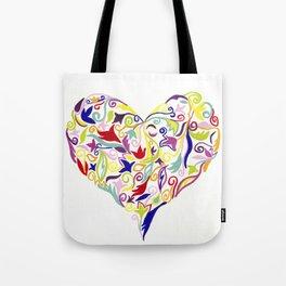 Patterned Heart I Tote Bag