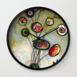 You and Eye Wall Clock