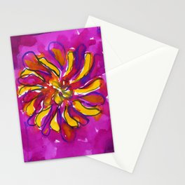 Bright Flower Stationery Cards