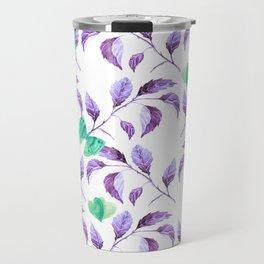 Passionately Purple Spring Time Daze - Bagaceous Travel Mug