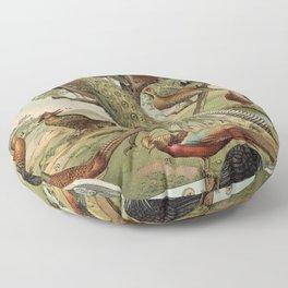 Birds of the World Floor Pillow