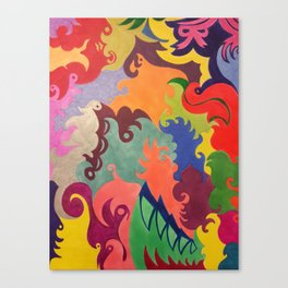 Whirl of Color Canvas Print