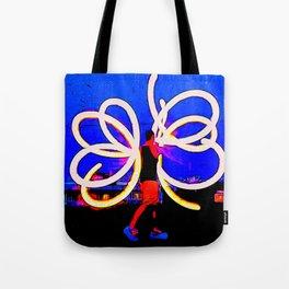 Poi Flowers Tote Bag