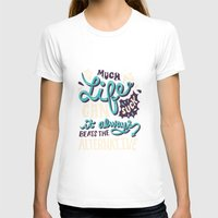 paper towns T-shirts featuring Paper Towns: It Beats The Alternative by Risa Rodil
