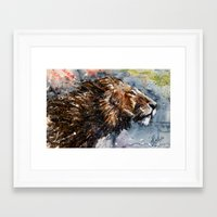 leon Framed Art Prints featuring Leon by KOSTART