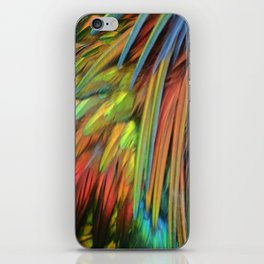 Color in Birdworld iPhone Skin