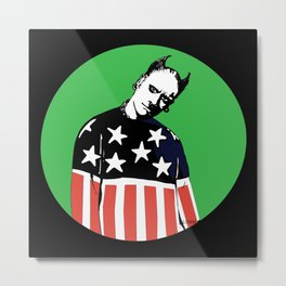 Keith Prodigy Black and Green *All proceeds donated to charity* Metal Print
