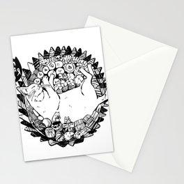 Jajan Pasar Meow Stationery Cards
