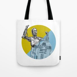 """""""R2D2 you know better than to trust a strange computer!"""" Tote Bag"""