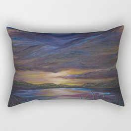 out of darkness comes light Rectangular Pillow