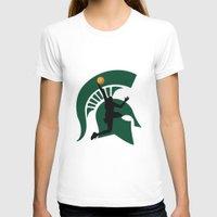 michigan T-shirts featuring Michigan Basketball by Anthony M. Davis