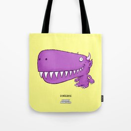 Growlasaurus Tote Bag
