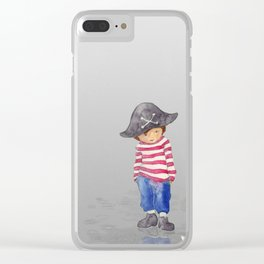 EXPLORER OF THE WORLD Clear iPhone Case