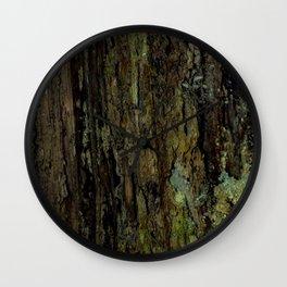 Wood Rot Wall Clock