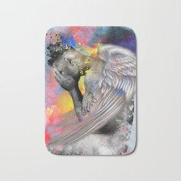 angel male nude Bath Mat