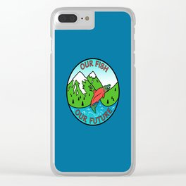 Stop Pebble Mine Clear iPhone Case