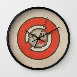 Ghostbuster 16-bit Wall Clock